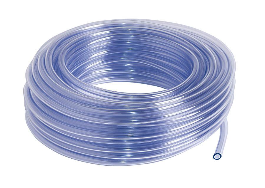 Prozorna PVC cev Φ6 mm (1/4''), 30 m