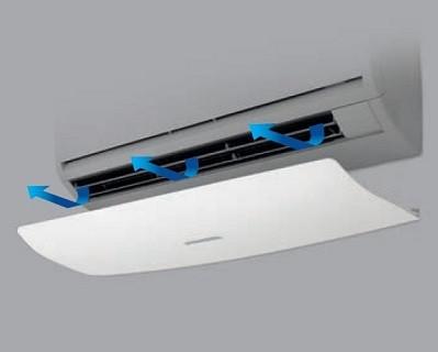 Usmerjevalnik zraka za klima napravo 800x300x60mm