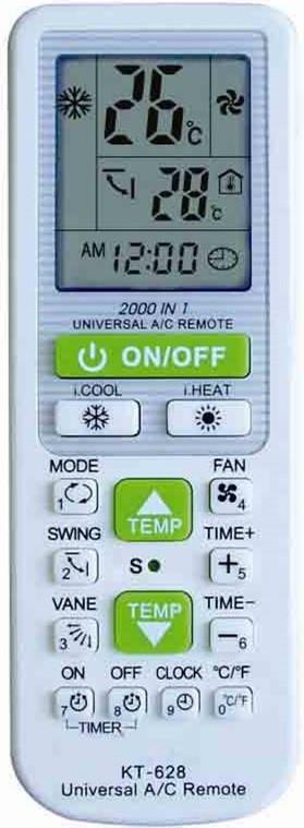 Univerzalni daljinski upravljalec za klima naprave OR202