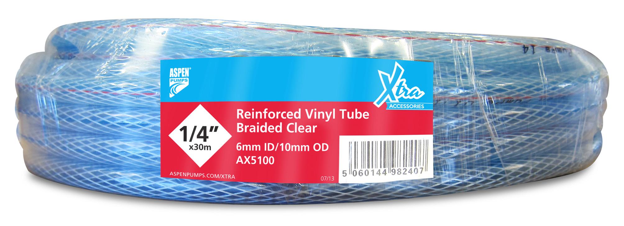 Armirana PVC cev Φ10 mm (3/8''), 30 m