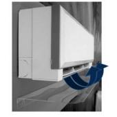 Usmerjevalnik zraka za klima napravo 900x280x50mm