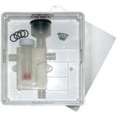Podometni sifon za kondenz s kroglico za klima naprave DOUBLE - CV91