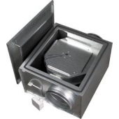 Kanalski izolirani ventilator IRE125 z okroglimi priključki Φ125mm