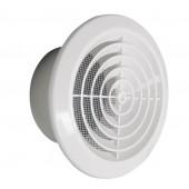 Plastična okrogla prezračevalna rešetka z mrežico, Φ150mm