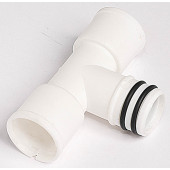 T - priključek za rebrasto cev za kondenz model CV Φ16/ 18mm