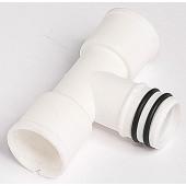 T - priključek za rebrasto cev za kondenz model CV Φ18/ 20mm