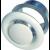 Kovinska okrogla prezračevalna rešetka, SR125, Φ125mm